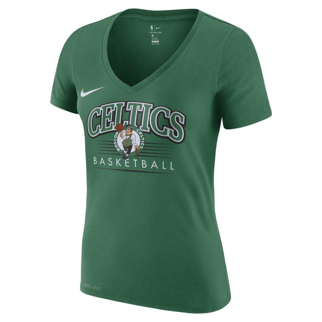 e2ee1a6c Boston Celtics Nike Dri-FIT Women's NBA T-Shirt Size 2XL (Clover) in ...