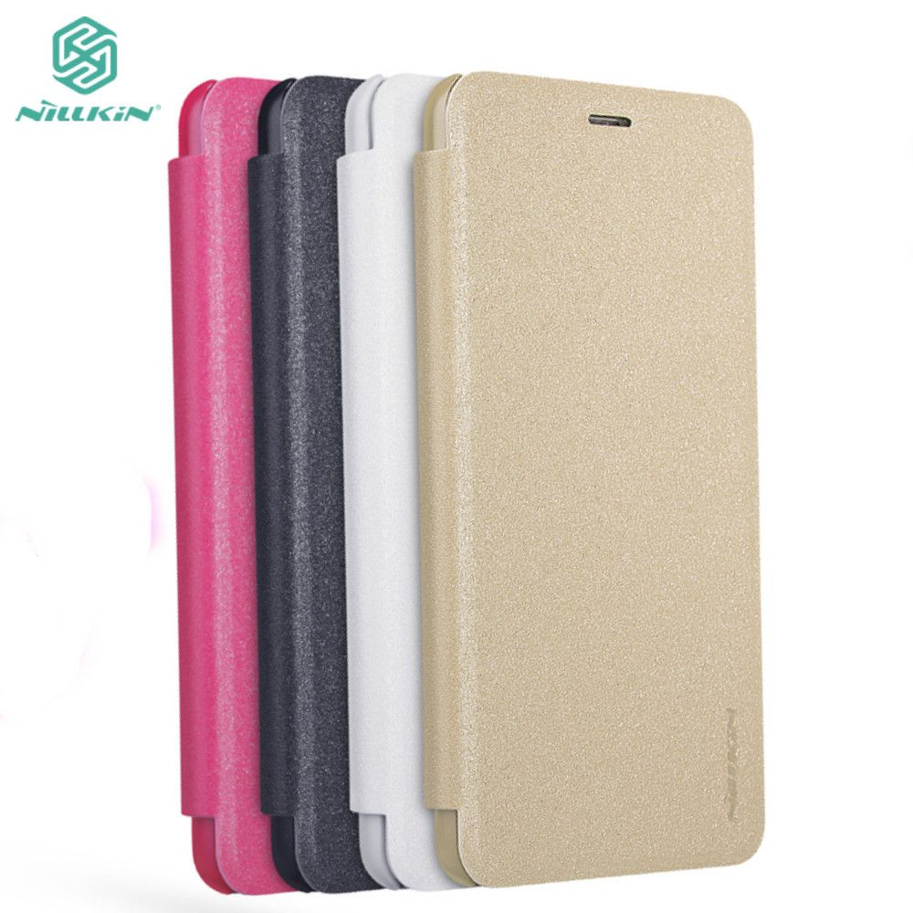 Meizu M5s Case 52 Nillkin For Cover Housing Hard M3s Sparkle Pu Leather Flip Retailed Package