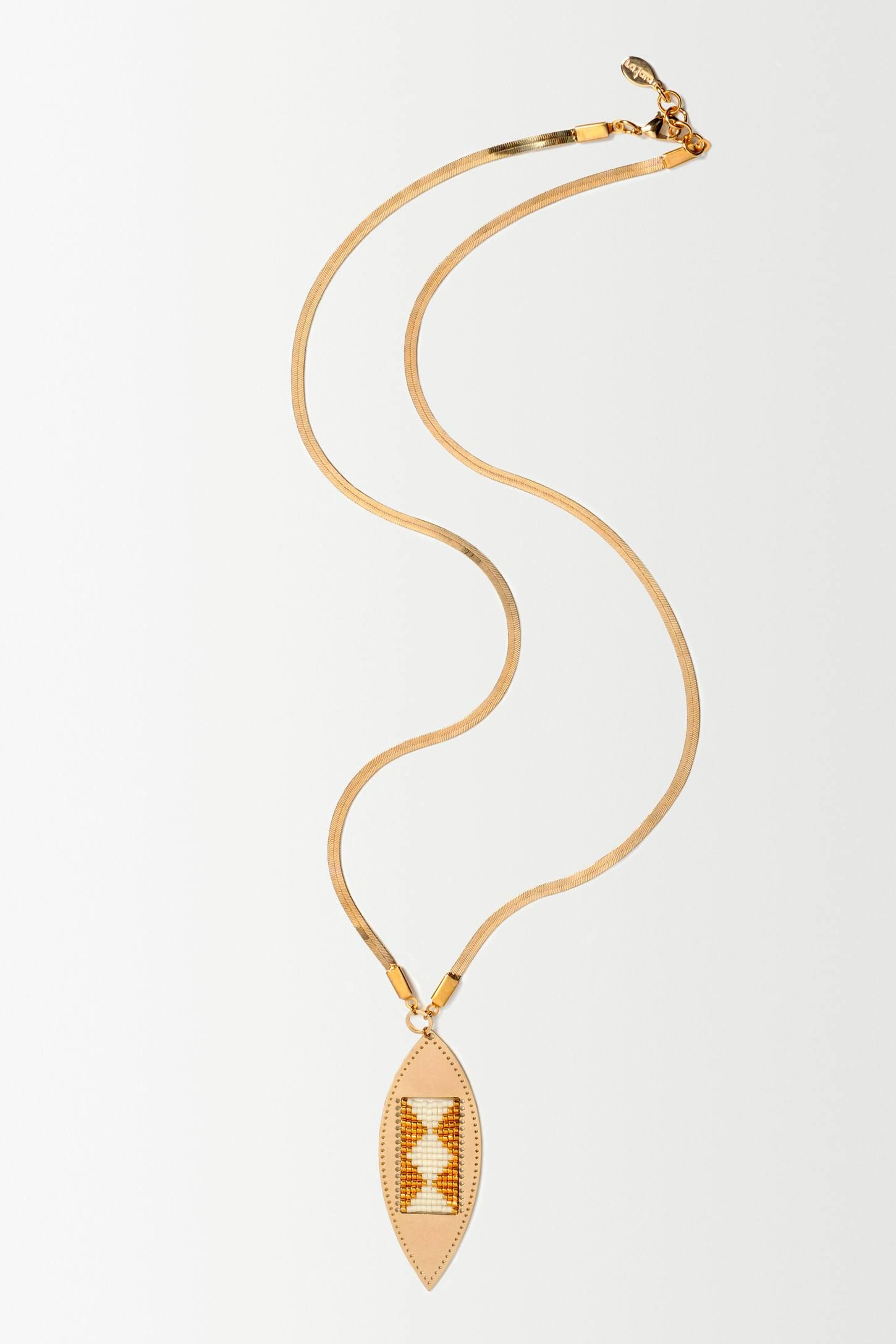 Arrow Weave Necklace - anthropologie.eu