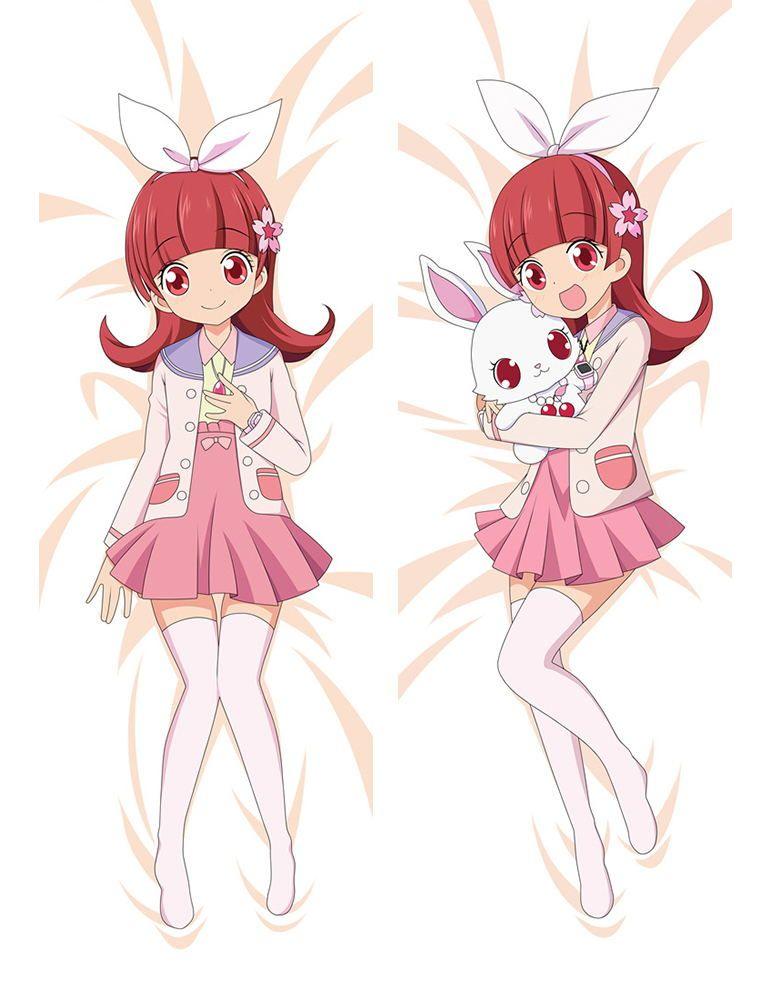 Anime japan pillow case hugging body 15050 peach skin