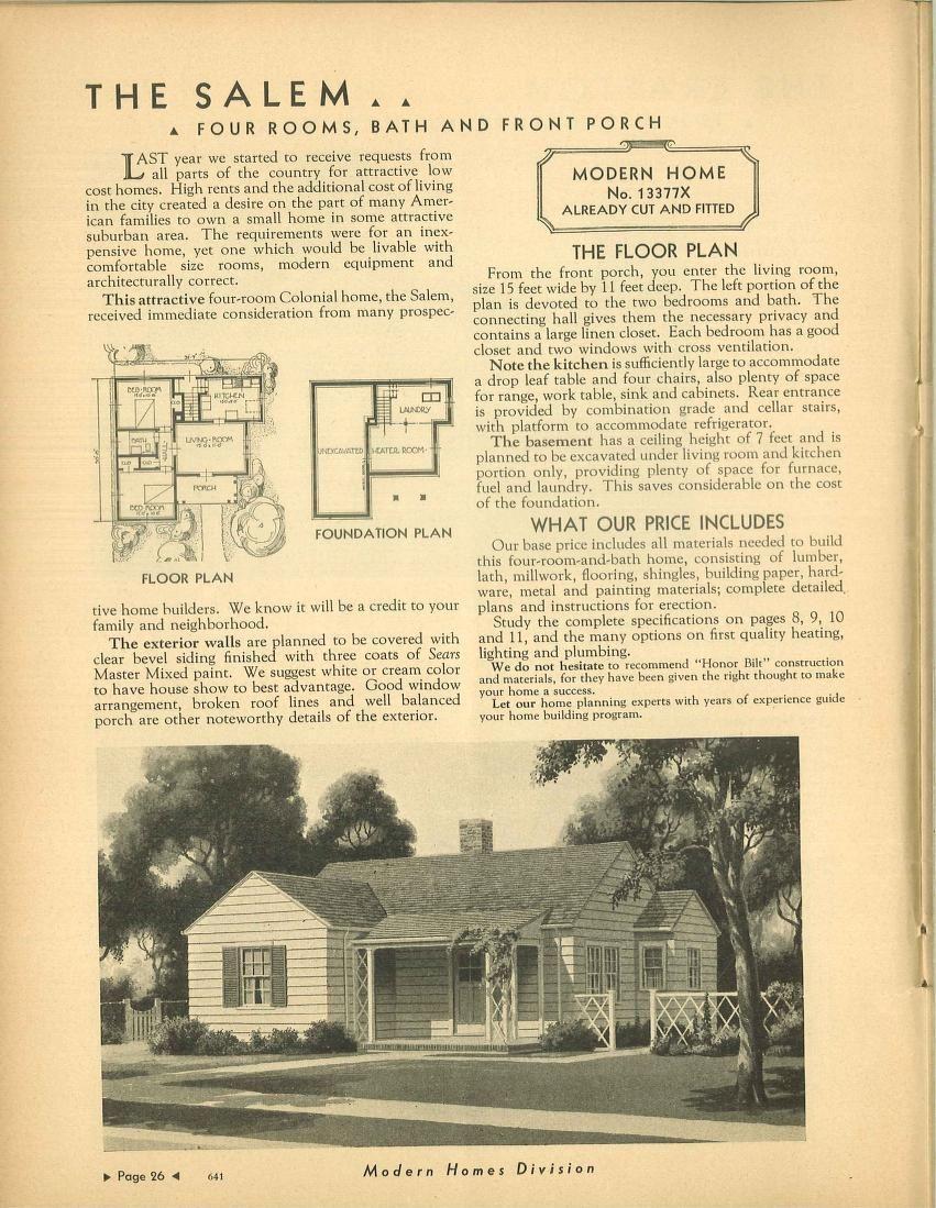 Sears Salem  1933(13377X); 1934(13377X); 1935(13377X); 1936; 1937(13377X); 1938; 1939(13377X); 1940. 1of2 Salems