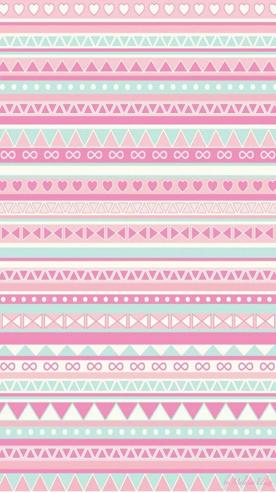 A Girly Background Thats Like Cross Between Tribal Pattern And Everything Pink Purple Thing You Can Possibly Think Of