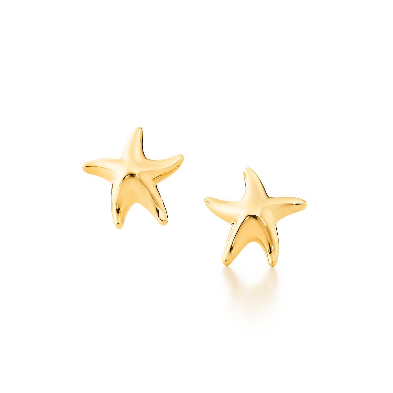 Elsa Peretti Starfish Earrings Starfish earrings Elsa peretti