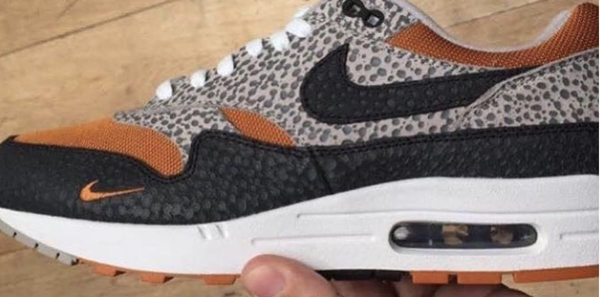 20eb0538c71d Size  x Nike Air Max 1  Safari  Sneaker Preview and Release Date ...