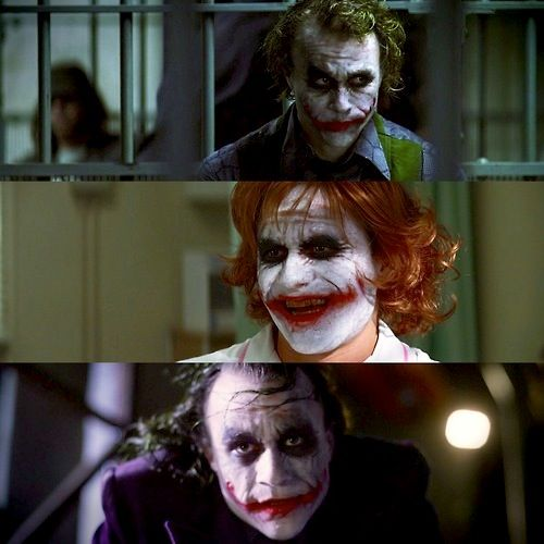 """The Dark Knight"" - The Joker"