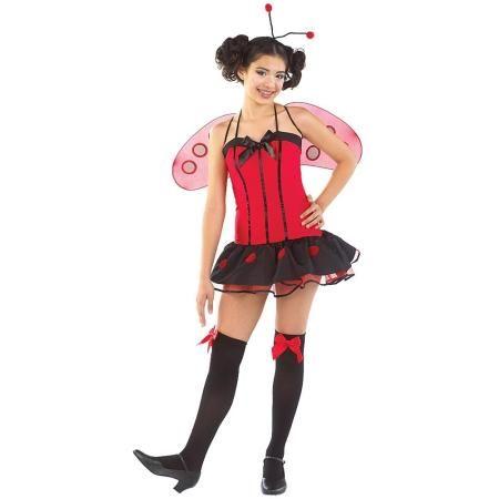 Little Miss Ladybug Tween Costume Costumes Pinterest Tween and - halloween costume ideas for tweens