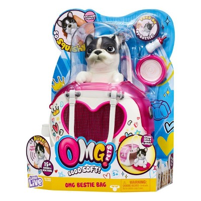 Little Live OMG Pets Bestie Bag & Puppy Baby girl toys