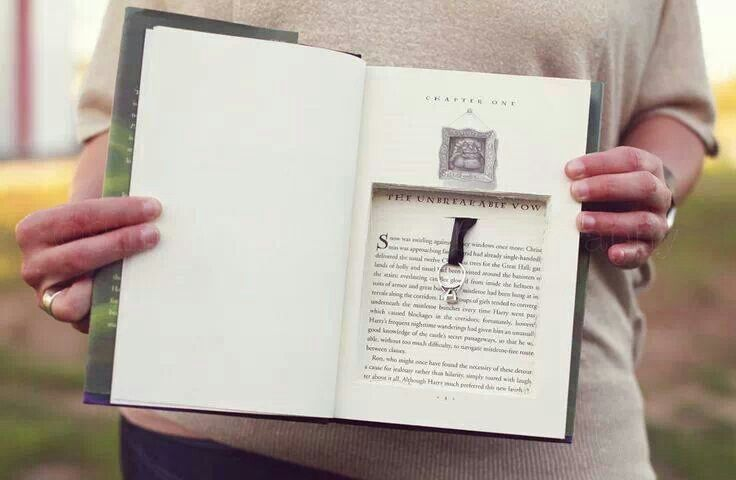 Open book proposal <3 loooove this idea with Harry Potter or Gone With the Wind :)