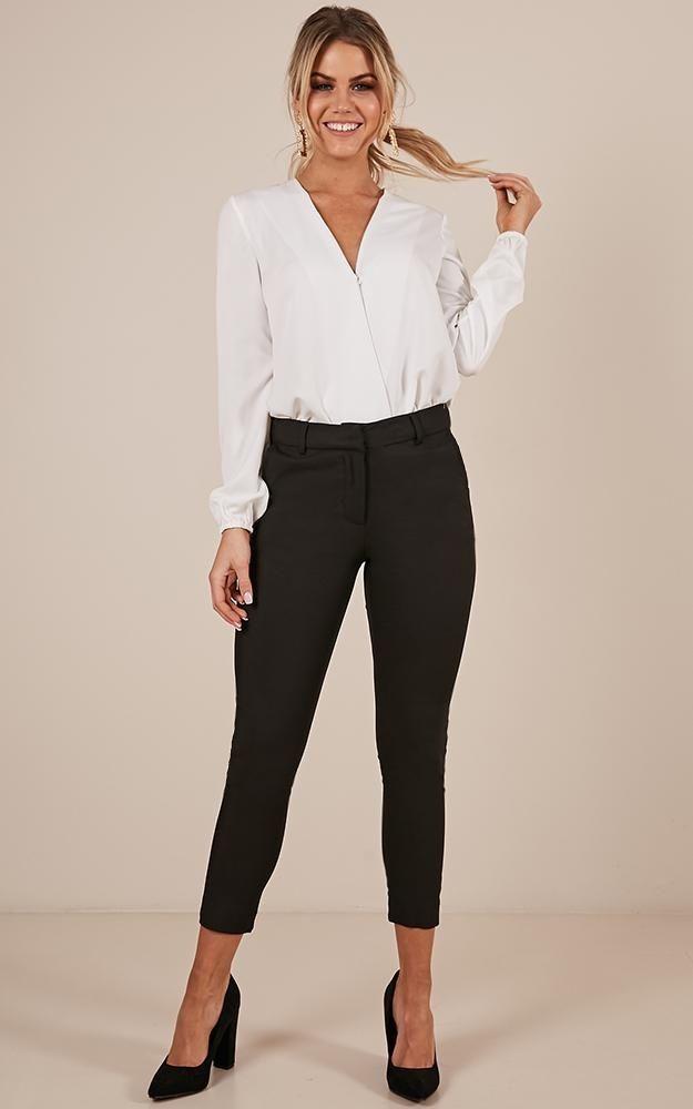 Overtime Pants In Black Produced #businessattiresummer