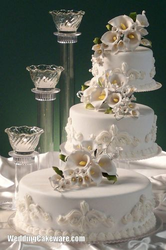 3 tier cascading wedding cake stand stands / 3 tier candle stand ...