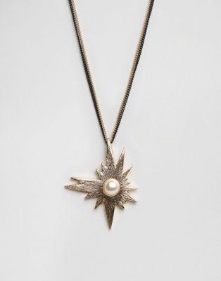 Nylon Star Gem Necklace