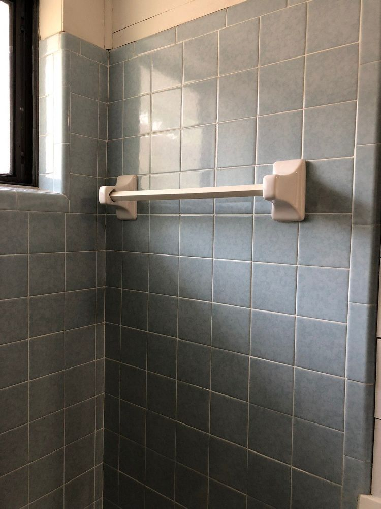 how to paint shower tile diy painted