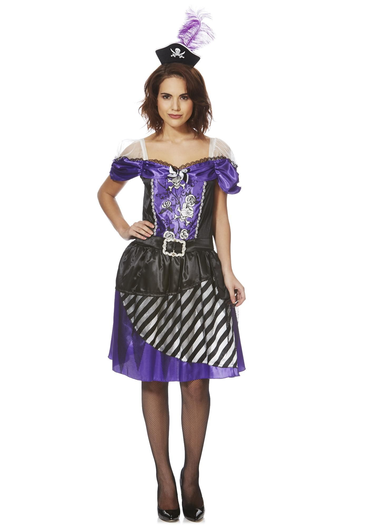 Tesco F&F Halloween Pirate Lady DressUp Costume €16 €20