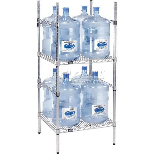 5 gallon water bottle storage rack 8