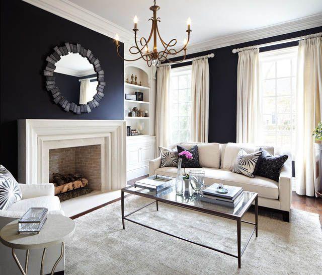 paredes oscuras decoración | Home Ideas & Stuff | Pinterest