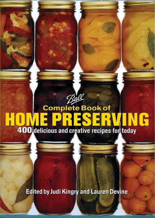 Ball complete book of home preserving ball home canning products food forumfinder Images