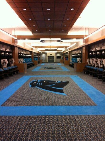 Man Cave Locker Room : Carolina panthers locker room i want a man cave inspired