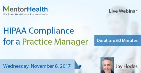 Attendees Will Leave The Course Clearly Understanding Of All The Requirements For A Comprehensive Hipaa Compliance P Hipaa Compliance Hipaa American Healthcare