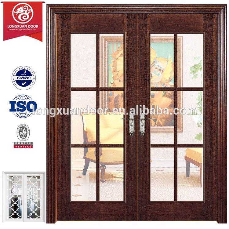 Resultado de imagen para puerta corrediza vidrio y madera puertas francesas pinterest - Puertas madera y cristal ...