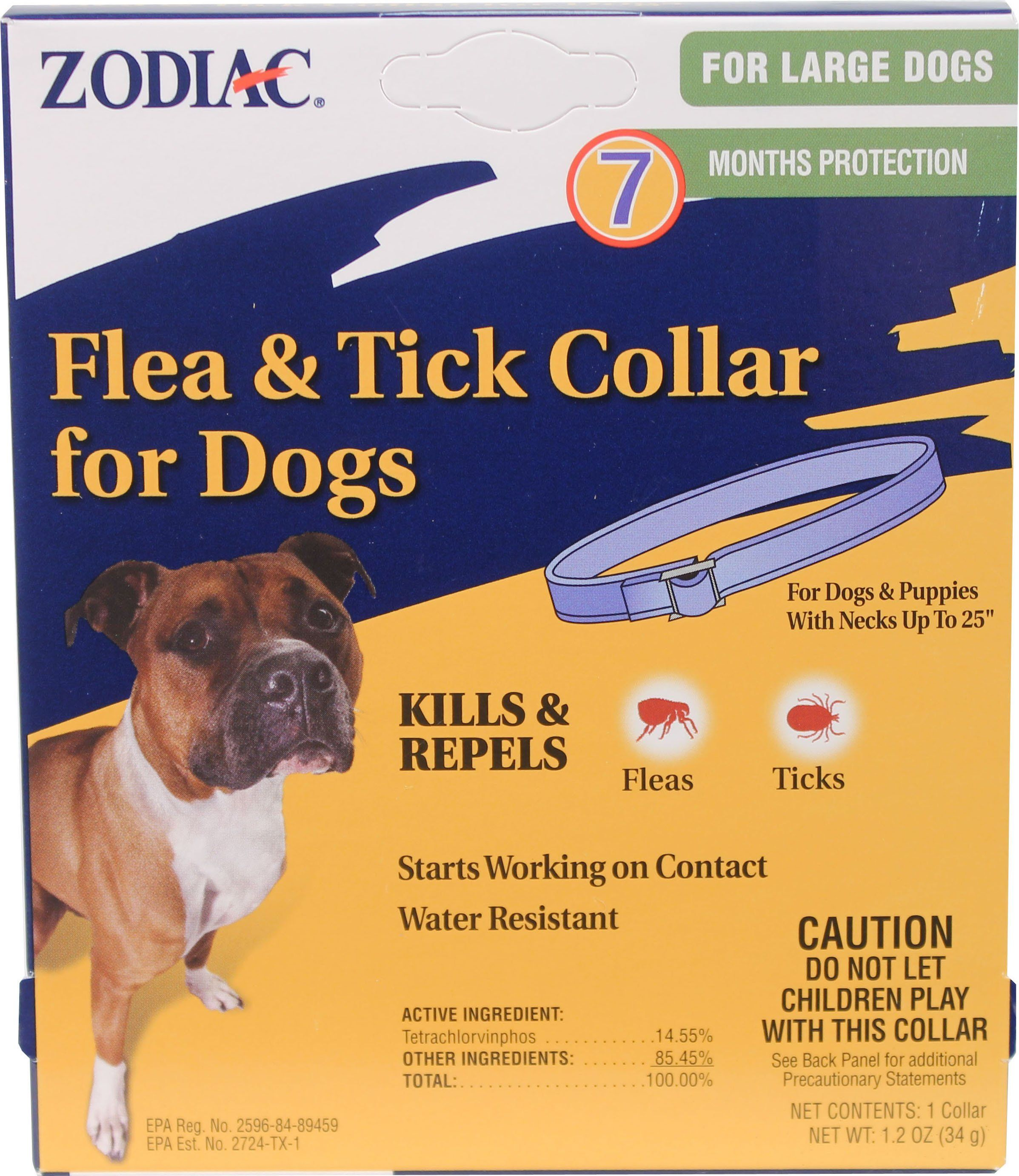 Farnam PetZodiac Flea & Tick Collar For Dogs Large