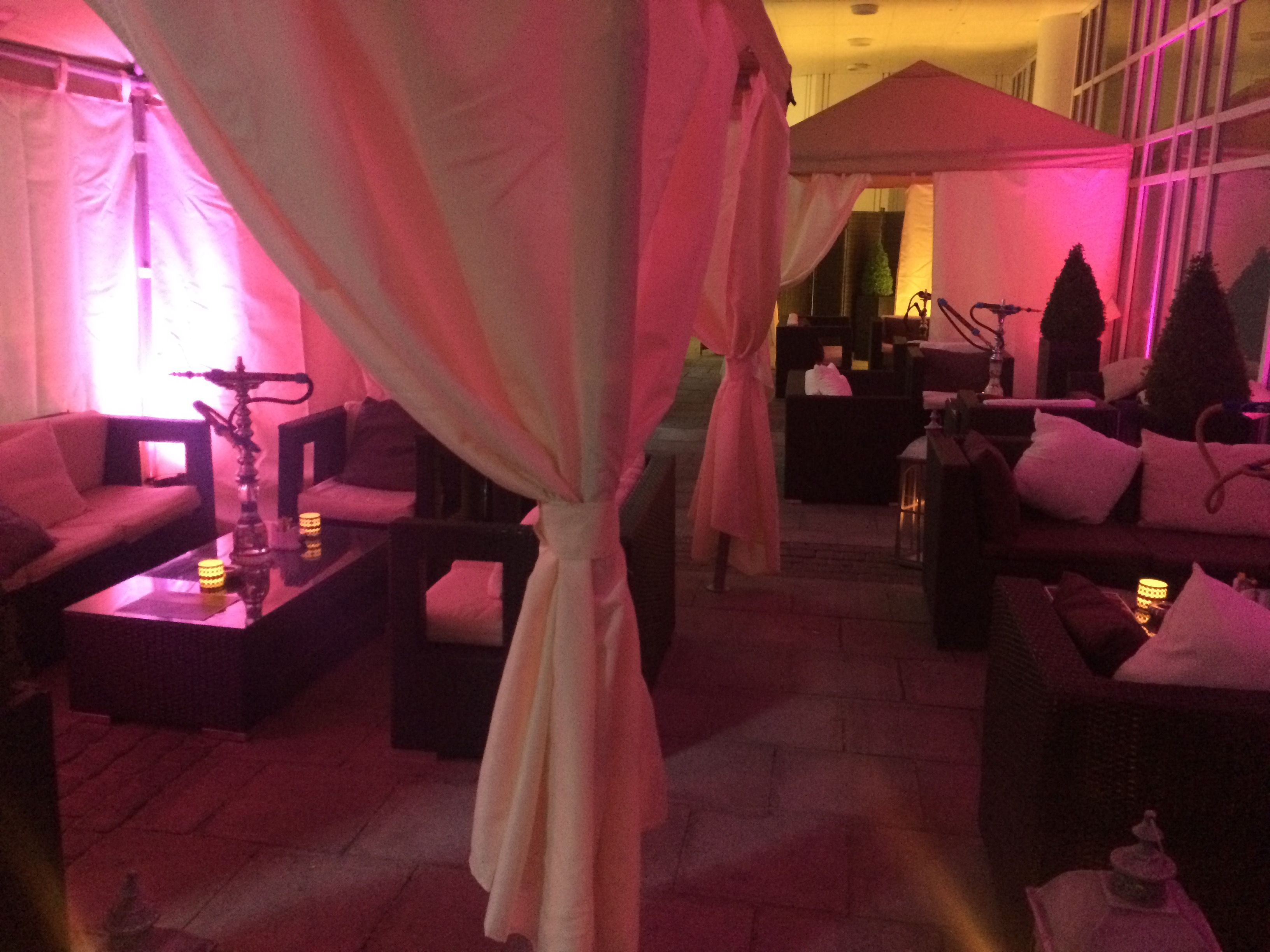 During Summer We Open Our Shisha Lounge And Offer Arabic