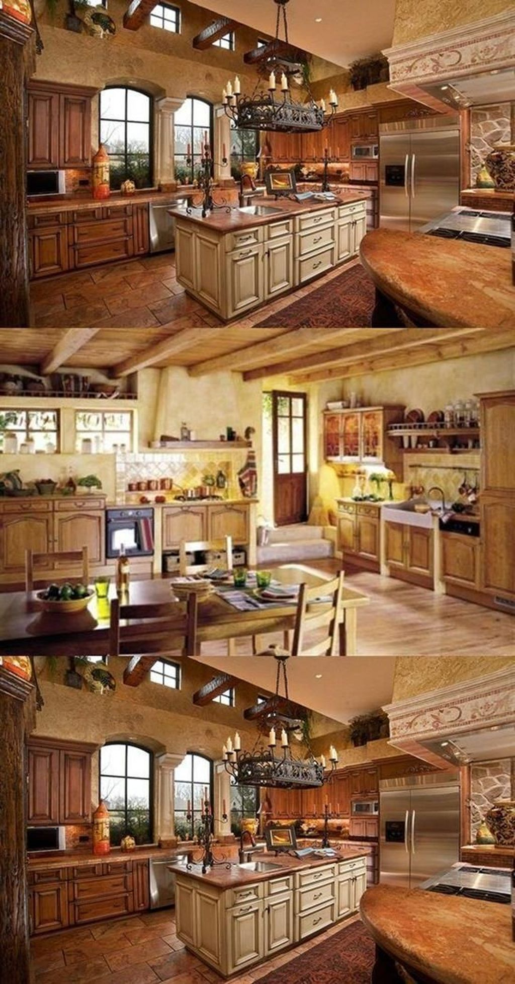 Rustic Home Design Decor Italian Kitchen