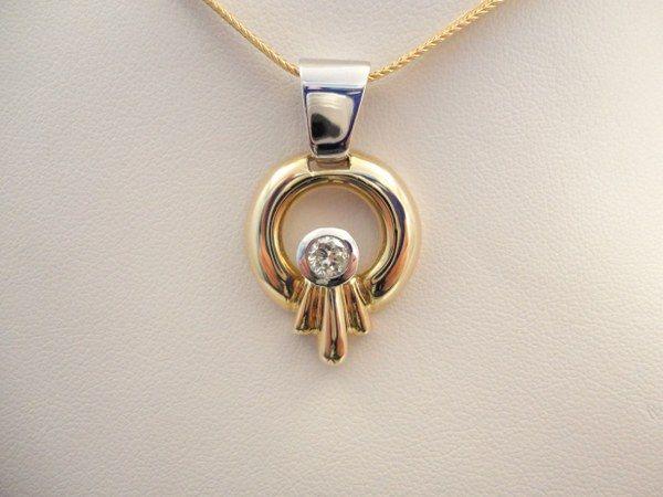 14k two toned diamond pendant httpthediamondstore 14k two toned diamond pendant httpthediamondstore mozeypictures Images