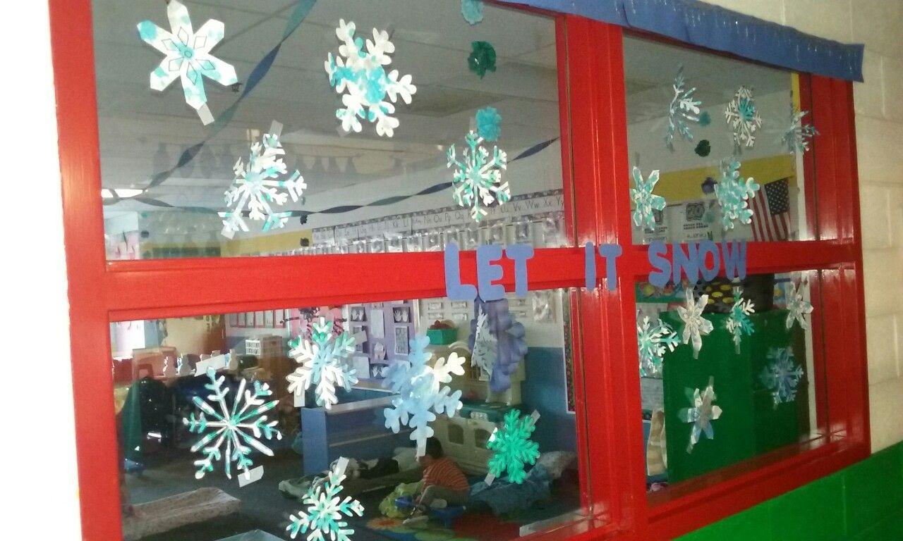 Let It Snow Window