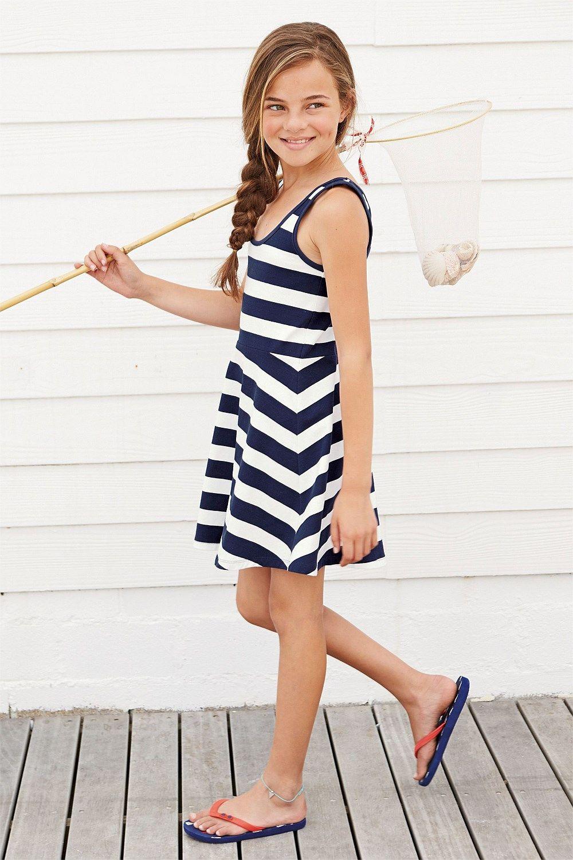 Girls Clothing Online - 3 to 16 years - Next Skater Dress (3-16yrs) - EziBuy Australia