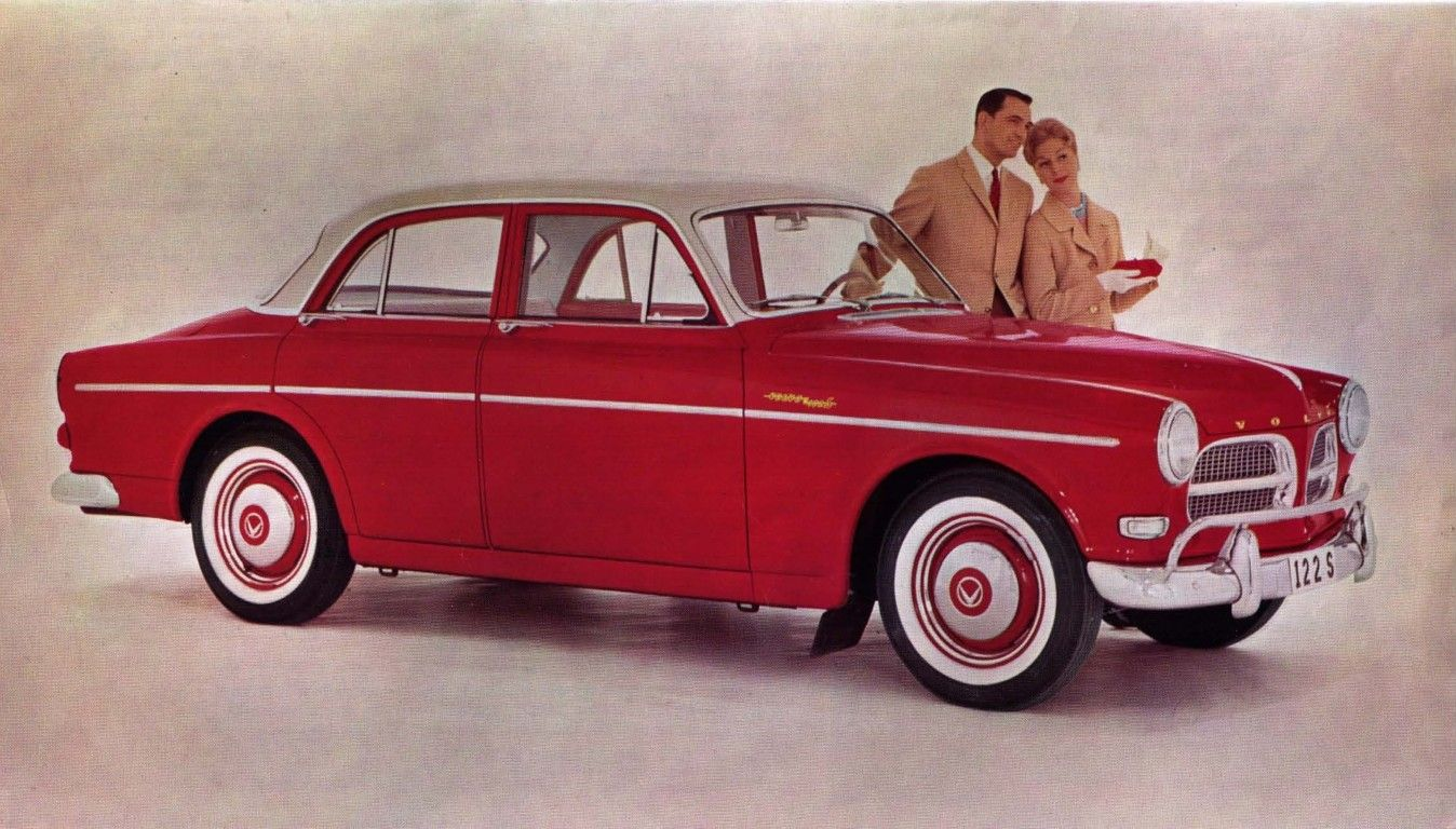 Volvo Amazon Picture Gallery. From brochure for 1960 volvo