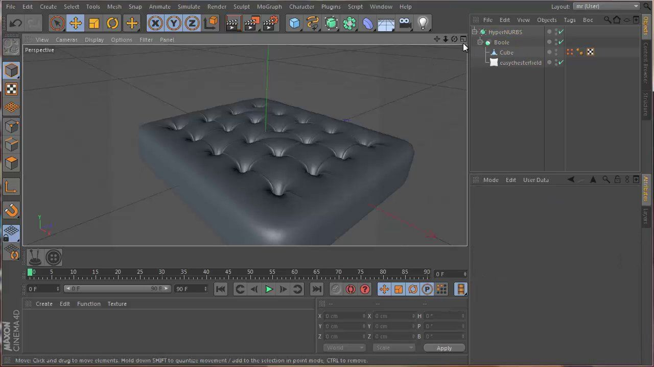 Easy Chesterfield free Cinema 4D plugin   C4D-Plugins-XPresso-Tools