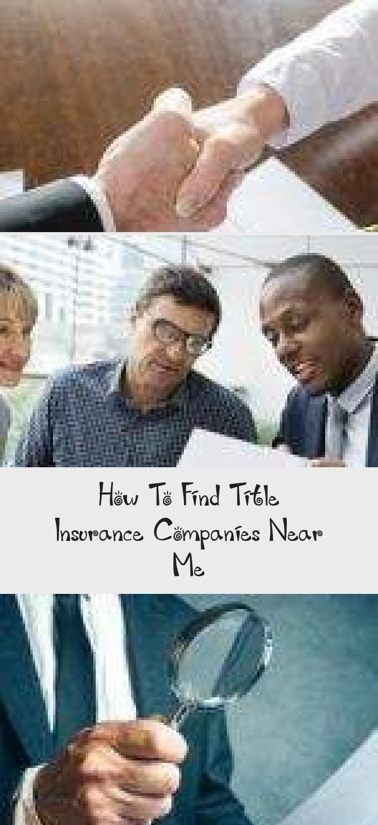 How To Find Title Insurance Companies Near Me in 2020