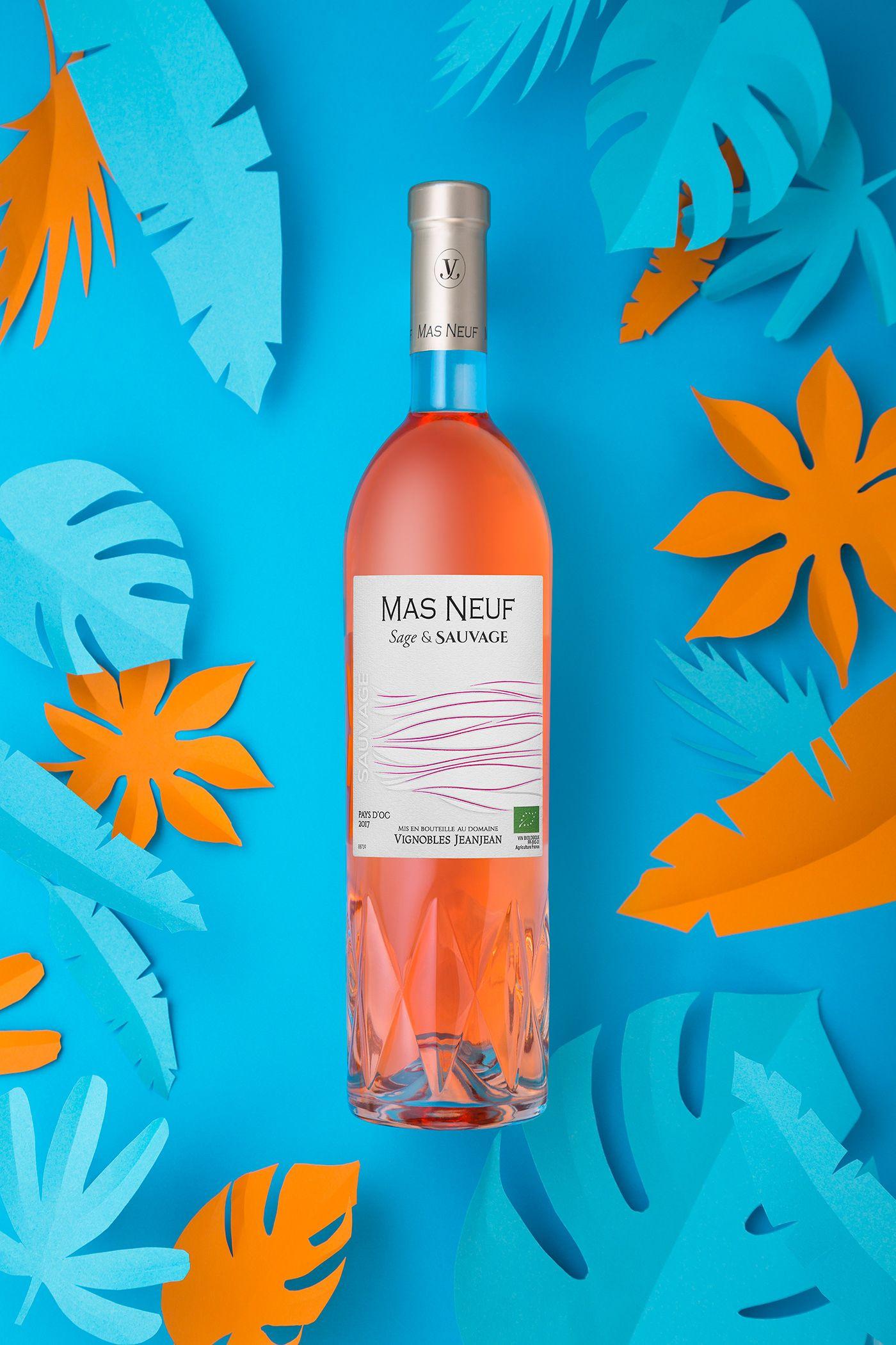 Sage & Sauvage Wine Label & Packaging Design on Behance