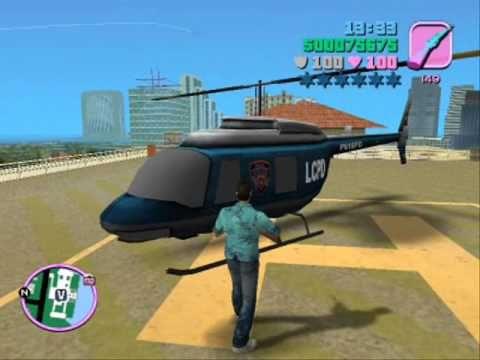 Gta Vice City Gta Liberty City Stories Npc Chopper Preview Gta Vice City