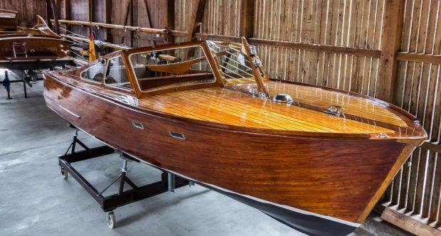 Enkelt båt Bodensee