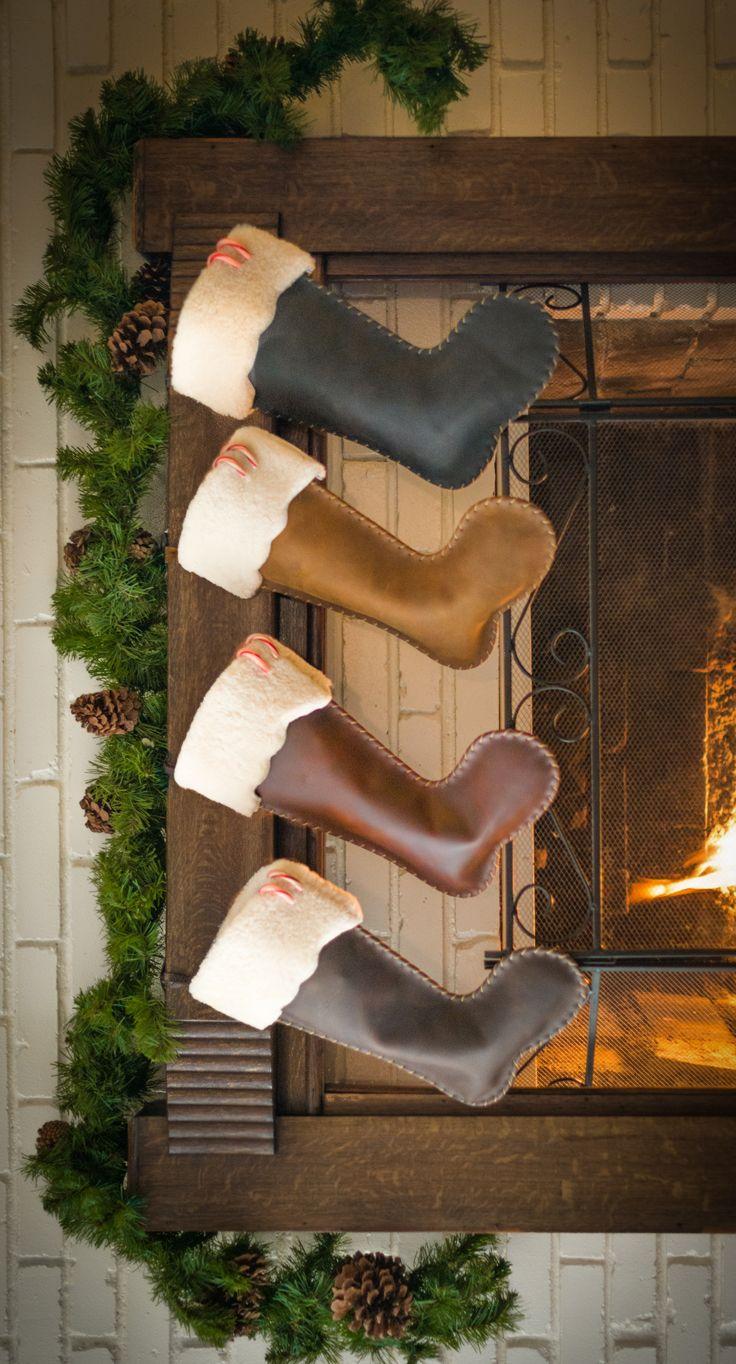 The Saddleback Leather Christmas Stocking | 100 Year Warranty | $68.00