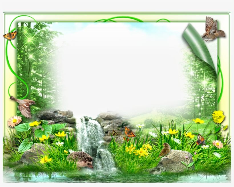 City Clipart Scenery Nature Photo Frame Design Transparent Png Download Photo Frame Design Photo Art Gallery Free Photo Frames