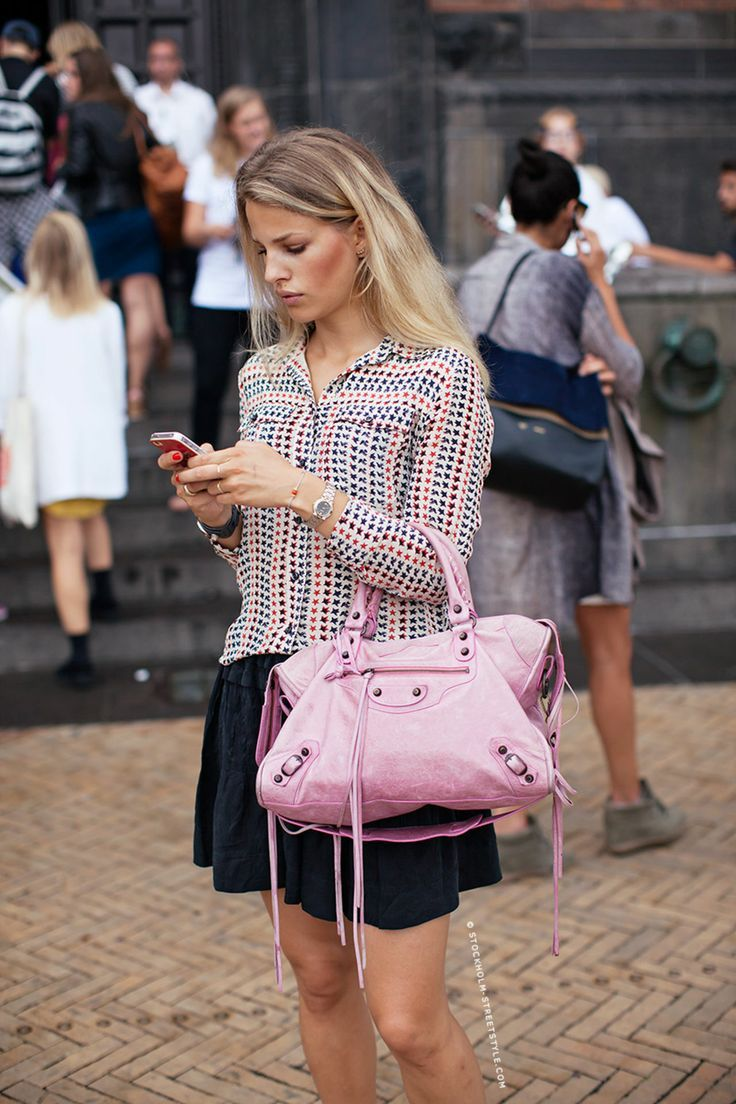 bef5949347 Wardrobe Staples You Should Stop Buying in Black - Glam Bistro Pink  Balenciaga, Balenciaga City