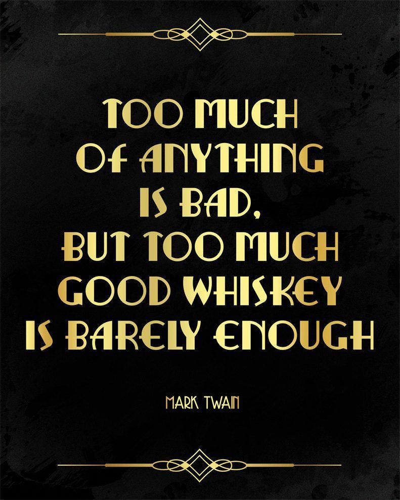 Authentic Hawaiian Tattoos Hawaiiantattoos Whiskey Quotes Mark Twain Quotes Drinking Quotes