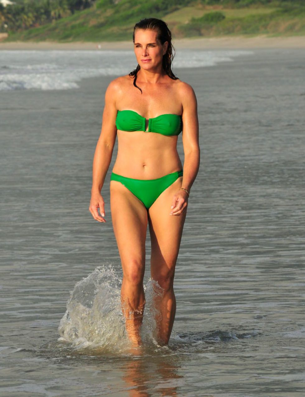 Brook Shields Bikini