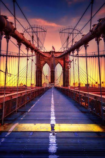Google+ Brooklyn Bridge by Aaron Bobeck