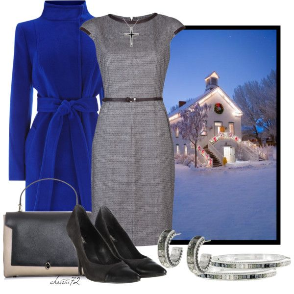 """""""Christmas Eve Church Service"""" by christa72 on Polyvore"""