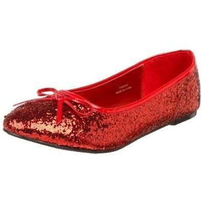 3459cdac8d06 Ruby Red Flats Ballerinas