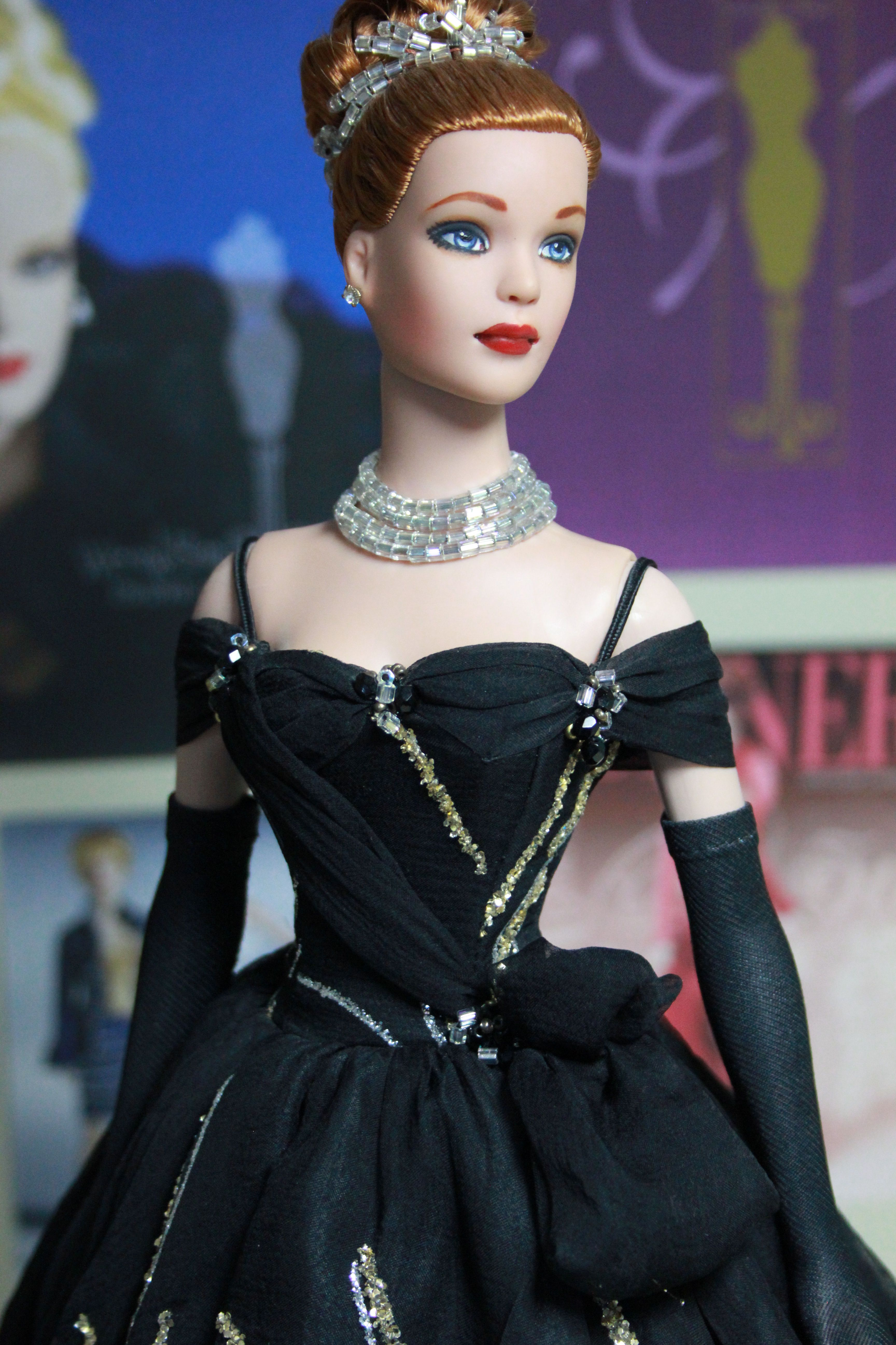 OOAK Tyler Wentworth - Gown & Make-up by Molly Baver (one time Design Director at Tonner Doll company)