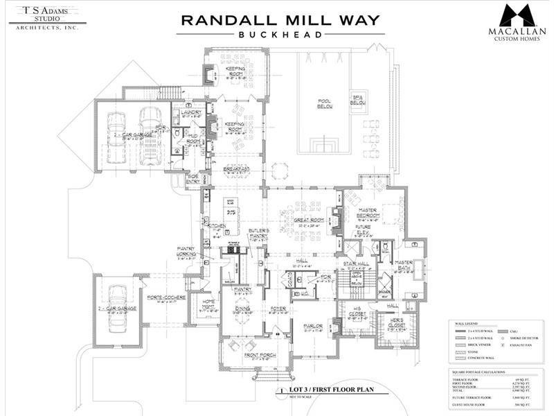 4035 3 Randall Mill Way Atlanta Dorsey Alston Luxury House Plans How To Plan House Floor Plans