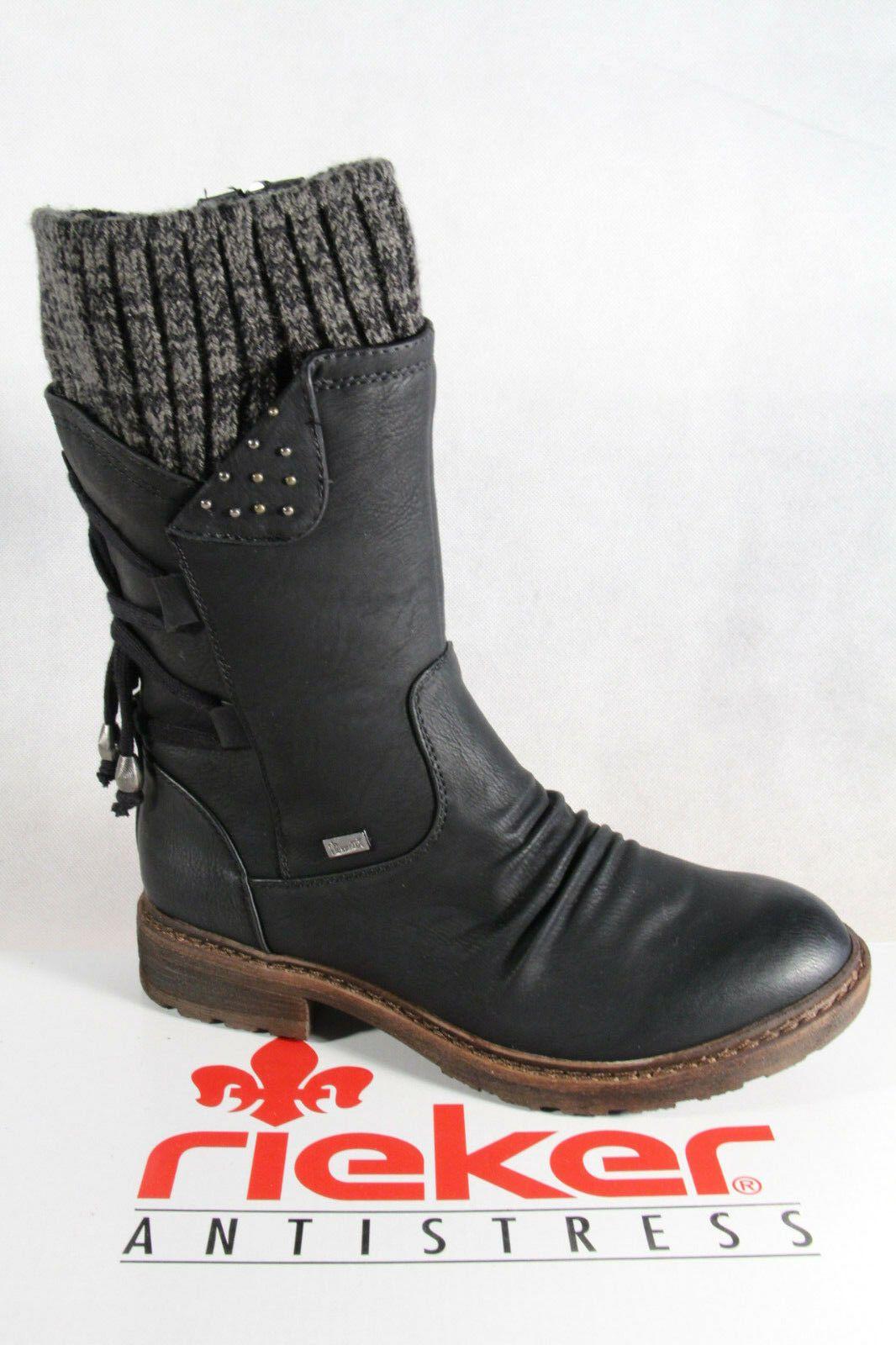 Details zu Rieker Stiefel Stiefelette Boots Stiefeletten
