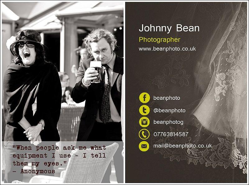 Johnny Bean, Photographer, Morecambe, UK (http://beanphoto.co.uk)