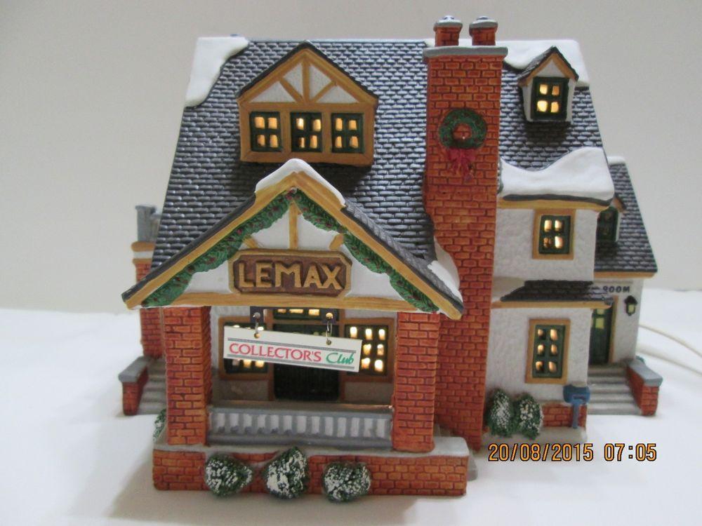 Home Dcor Home & Kitchen Lemax Harvest Crossing Village ...