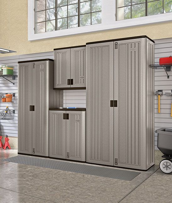 With A Few Versatile Storage Cabinets You Can Achieve Organizational Perfection This Fall Garagestorage Suncast
