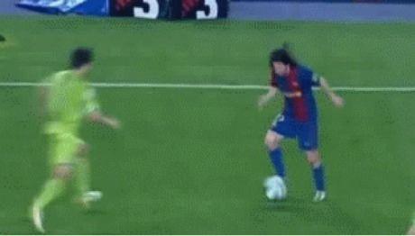 Messi's best goal in his career